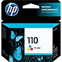 HP+110+Tri-Color+Ink+Cartridge+-+Color+-+Inkjet+-+55+Page