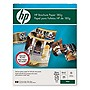 "HP Brochure/Flyer Paper - Letter - 8.50"" x 11"" - 48.00 lb - Glossy - 98 Brightness - 150 / Pack - Bright White"