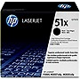 HP 51X Black Toner Cartridge - Black - Laser - 13000 Page - 1 Each