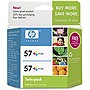 HP 57 Twinpack Tri-color Ink Cartridge - Color - Inkjet