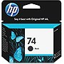HP 74 Black Ink Cartridge - Black - Thermal Transfer - 200 Page