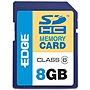 Edge 8GB Proshot Sdhc Memory Card CLASS 6