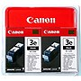 Canon BCI-3E Color Ink Cartridges - Inkjet - 55 Page - Cyan, Magenta, Yellow