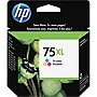 HP 75XL Tri-Color Ink Cartridge - Color - Thermal Transfer - 520 Page