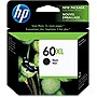 HP 60XL Black Ink Cartridge - Black - Inkjet - 600 Page