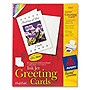 Avery+Greeting+Card+-+5.50%22+x+8.50%22+-+Matte+-+20+%2f+Box+-+White