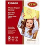 "Canon Photo Paper - Letter - 8.50"" x 11"" - 190 g/m² - Glossy - 99 Brightness - 100 Sheet"