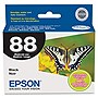 Epson Black Ink Cartridge - White, Blue - Inkjet - 1 Each