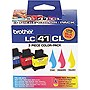 Brother Tri-Color Ink Cartridge - Inkjet - 400 Page - Cyan, Magenta, Yellow