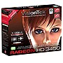 Visiontek Radeon HD 3450 Graphics Card - ATi Radeon HD 3450 - 512MB GDDR2 SDRAM 64bit - PCI Express 2.0 x16 - DVI-I, HD-15 - Retail
