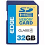 EDGE Tech 32GB ProShot Secure Digital High Capacity (SDHC) Card - (Class 4) - 32 GB