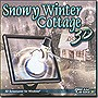 Snowy Winter Cottage 3D