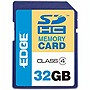 EDGE Tech HD Video 32GB Secure Digital High Capacity (SDHC) Card - Class 4 - 32 GB