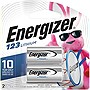 Energizer Lithium Photo Battery for Digital Cameras - 3 V DC - 2 / Pack