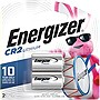 Energizer Lithium Battery - Proprietary750mAh - 3V DC - 2 Batteries