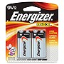 Energizer Multipurpose Battery - 595 mAh - 9V - Alkaline - 9 V DC - 2 / Pack