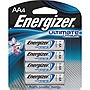 Energizer Ultimate L91BP-4 Battery - AA - Lithium (Li) - 1.5 V DC - 4 / Pack