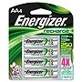 Energizer 2300 mAh AA NiMH Rechargeable Battery - 4 Pack