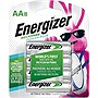 Energizer AA NiMH Rechargeable General Purpose Battery, 8-Pack