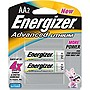 Energizer EA91BP-2 Advanced Lithium General Purpose Battery - AA - 1.5V DC