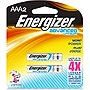 Energizer EA92BP-2 Advanced Lithium General Purpose Battery - AAA - 1.5V DC