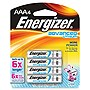 Energizer EA92BP-4 Advanced Lithium General Purpose Battery - AAA - 1.5 V DC