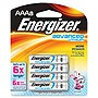 Energizer EA92BP-8 Advanced Lithium General Purpose Battery - AAA - 1.5 V DC