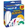 Maxell+CD-402+CD%2fDVD+Sleeves+(100-Pack)+-+Slide+Insert+-+White