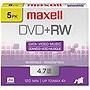 Maxell+4x+DVD%2bRW+Media+-+120mm