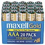 Maxell+AAA+Alkaline+Battery+20+Pack