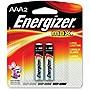 Energizer Alkaline AAA Battery - AAA - Alkaline - 1.5 V DC - 2 / Pack