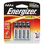 Energizer Multipurpose Battery - AAA - Alkaline - 1.5 V DC - 4 / Pack