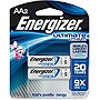 Energizer Multipurpose Battery - AA - Lithium (Li) - 1.5 V DC - 2 / Pack