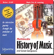 Multimedia History of Music and Great Composers