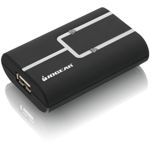 IOGEAR 2-to-1 USB 2.0 Sharing Switch - Type A USB, Type B USB - External