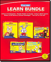 Ultimate Learning 5 CD Pack - Arthur, Carmen Sandiego, & Dr. Seuss
