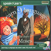 Learn 9 Languages The Story of Moses