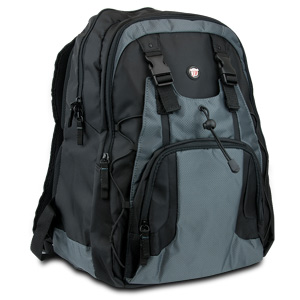 "Targus Laptop Backpack PDQ-15.4"" (Black/Gray) - TSB134"