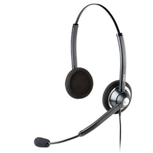GN Jabra GN1900 USB Duo Headset - Wired Connectivity - Stereo - Over-the-head