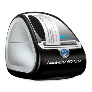 Dymo LabelWriter 450 Turbo Label Printer - Monochrome - 71 lpm Mono - USB