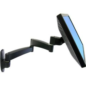 Ergotron 200 Wall Mount Arm - 25 lb - Black