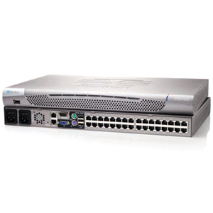 Raritan Dominion KX II DKX2-832 Digital KVM Switch - 32 x 8, 1 - 32 x RJ-45 Keyboard/Mouse/Video - 1U - Rack-mountable
