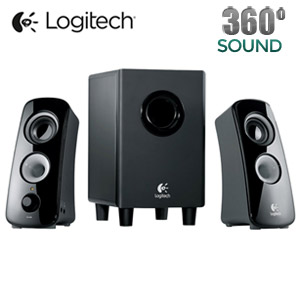 Logitech Z323 2.1 Speaker System - 30 W RMS - 55 Hz - 20 kHz