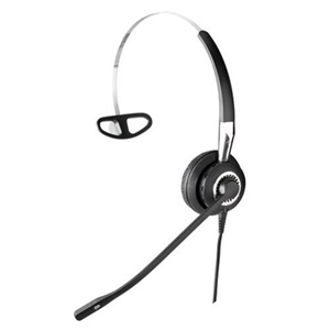 GN Jabra BIZ 2400 Headset - Wired Connectivity - Mono - Over-the-head