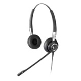 GN Jabra BIZ 2400 Duo Headset - Wired Connectivity - Stereo - Over-the-head