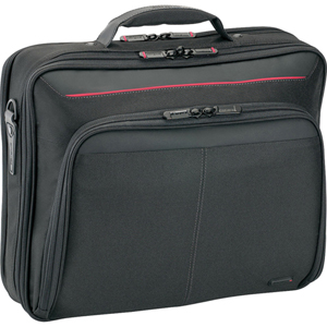 "Targus CN32US DeluxeClamshell Notebook Case - 13.5"" x 15.75"" x 3.5"" - Nylon - Black, Red"
