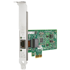 HP NC112T Gigabit Ethernet Server Adapter - PCI Express - 1 x RJ-45 - 1000Base-T - Internal