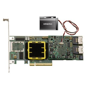 Adaptec 5Z 5805Z 8-Port SAS RAID Controller - 512MB DDR2 - PCI Express - 300MBps - 2 x SFF-8087 - Mini-SAS Internal