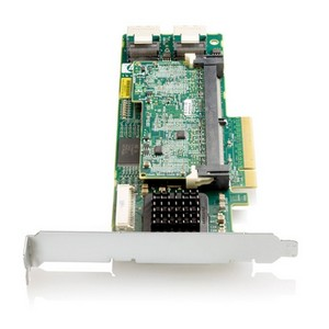 HP Smart Array P410 8-Port SAS RAID Controller - 512MB ECC DDR2 SDRAM - PCI Express x8 - 300MBps - 2 x Mini-SAS SAS 300 - Serial Attached SCSI Internal