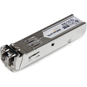 StarTech.com Gigabit 850nm Multi Mode SFP Fiber Optical Transceiver - LC 550m - 1 x 1000Base-SX
